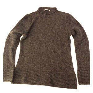 Banana Republic Gray Wool Alpaca Sweater Size Med